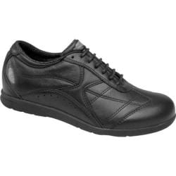 Women's Drew Elite Black Leather
