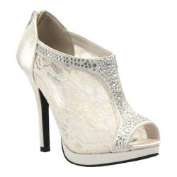 Women's Coloriffics Viv Ivory Satin/Lace