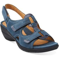 Women's Clarks Un.Orlanda Blue Leather