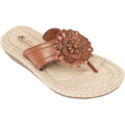 Women's Cliffs by White Mountain Crosby Saddle Burnished Smooth