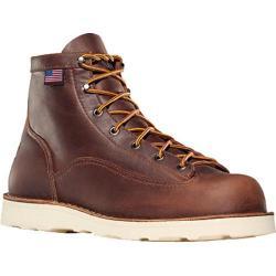 Men's Danner Bull Run 6in Cristy Brown Full Grain Leather 13429602