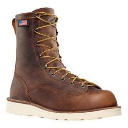 Men's Danner Bull Run 8in Cristy Brown Full Grain Leather 13429731