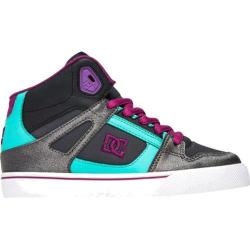 Children's DC Shoes Spartan Hi Teal/Black
