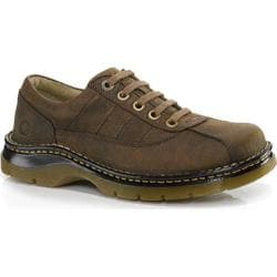 Men's Dr. Martens John 5 Eye Shoe Dark Taupe Dirty Dog