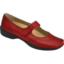 Women's Drew Isabel Red Leather