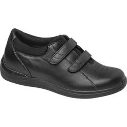 Women's Drew Lotus Black Full Grain Leather
