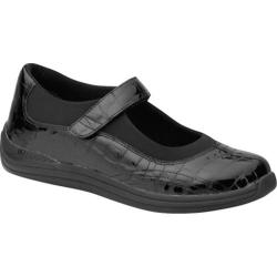 Women's Drew Rose Black Croc Patent
