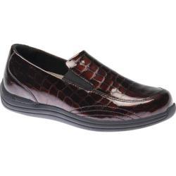 Women's Drew Violet Brown Croc Patent Leather