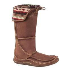 Women's Durango Boot RD065 12in Santa Fe Tall Moccasin Auburn Sunset