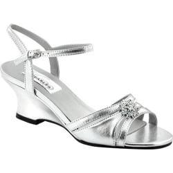 Women's Dyeables Cassie Silver Metallic
