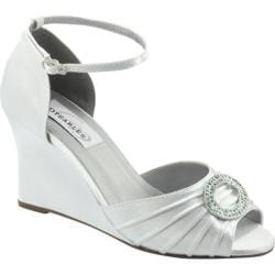 Women's Dyeables Etta White Satin