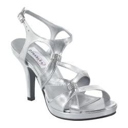 Women's Dyeables Claire Silver Metallic