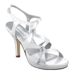 Women's Dyeables Claire White Satin