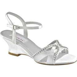 Women's Dyeables Peg White Satin