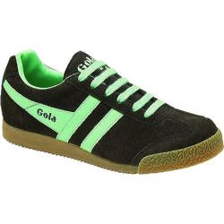 Women's Gola Harrier Suede Brown/Mint