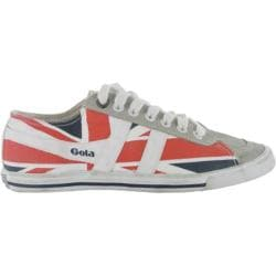 Women's Gola Quota Union Jack White/Navy/Red