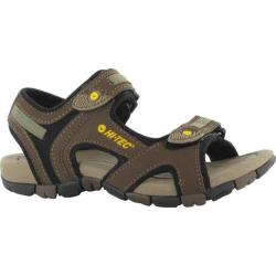 Children's Hi-Tec GT Strap Jr Smokey Brown/Taupe/Gold