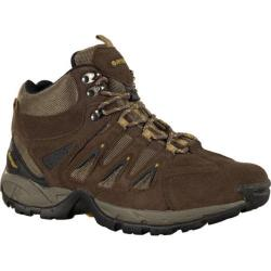 Men's Hi-Tec Scrambler Mid Smokey Brown/Saffron