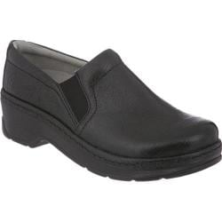 Women's Klogs Naples Black Tooled