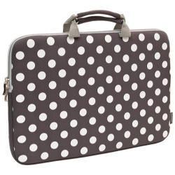 Sumdex NeoArt Printed Neoprene Sleeve - 16in Grey/White Dots