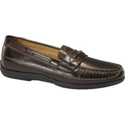Men's Dockers Kingston Brown Burnished Full Grain Leather