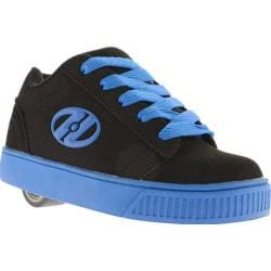 Boys' Heelys Straight Up Black/Royal