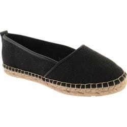 Women's Annie Taffy Black Linen