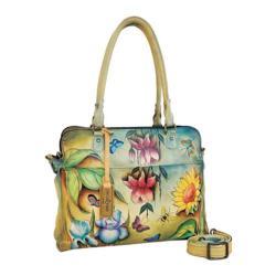Women's Anuschka Triple Compartment Notebook/Tablet Organizer Floral Dreams