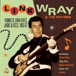 LINK WRAY & THE RAYMEN - RUMBLES RAW-HIDES JACKS & ACES 1956-62 11868334