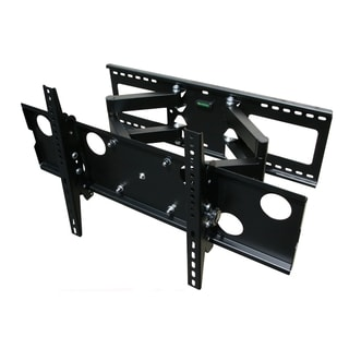 Mount-It! Flat Screen TV Full Motion Dual Arm Wall Mount Bracket