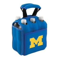Picnic Time Six Pack Michigan Wolverines Blue