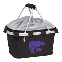 Picnic Time Metro Basket Kansas State Wildcats Embroidered Black 11926226