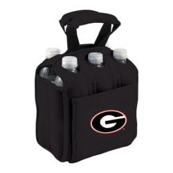 Picnic Time Six Pack Georgia Bulldogs Black