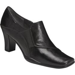 Women's Aerosoles Cingle File Black Synthetic
