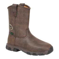 Georgia Boot GBOT045 Adolescent Wellington Suspension System Chocolate