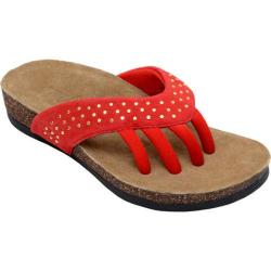 Women's Wellrox Mila Red Leather