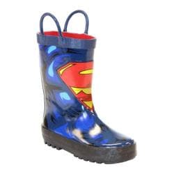 Boys' Western Chief Superman Forever Rain Boot Blue
