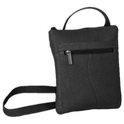 Women's David King Leather 598 Slender Shoulderbag Black