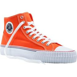 PF Flyers Center Hi Orange Canvas/White