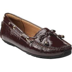 Women's Clarks Dunbar Cruiser Burgundy Patent Leather
