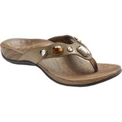 Women's Vionic with Orthaheel Technology Eve Bronze Metallic