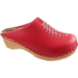Women's Troentorp Bastad Clogs Wright Red 13775320