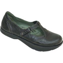 Women's Kalso Earth Shoe Tone Black Leather