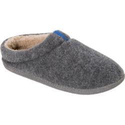Men's Dearfoams Boiled Wool Clog Grey