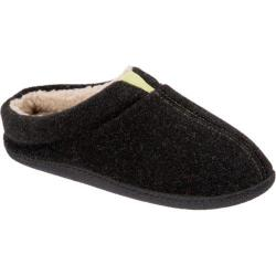 Men's Dearfoams Boiled Wool Clog Black