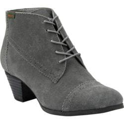 Women's Bass Porter Charcoal Suede
