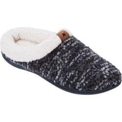 Women's Dearfoams Boucl Knit Clog Black