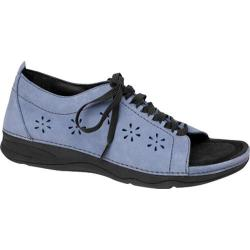 Women's Drew Layla Blue Denim Nubuck