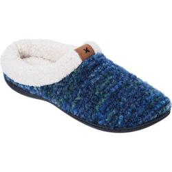 Women's Dearfoams Boucl Knit Clog Blue