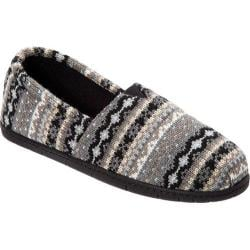 Women's Dearfoams Fair Isle A-Line Grey Combo